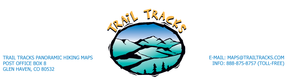 Trail Tracks Panoramic Hiking Maps